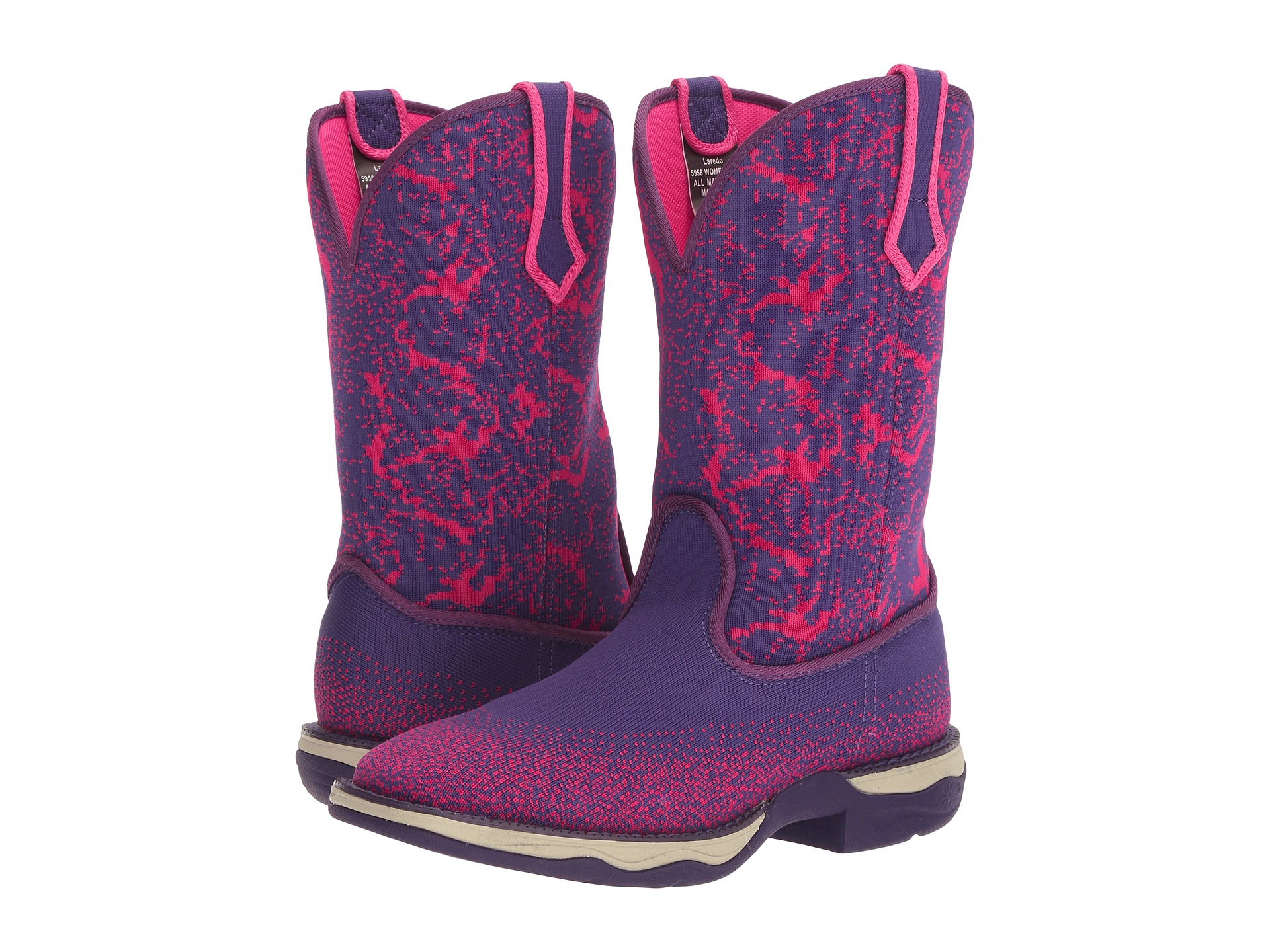 Boots, Cowboy Boots, Purple | Shipped Free at Zappos