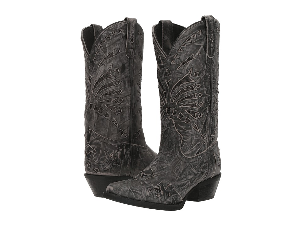Laredo Stevie (Black) Cowboy Boots