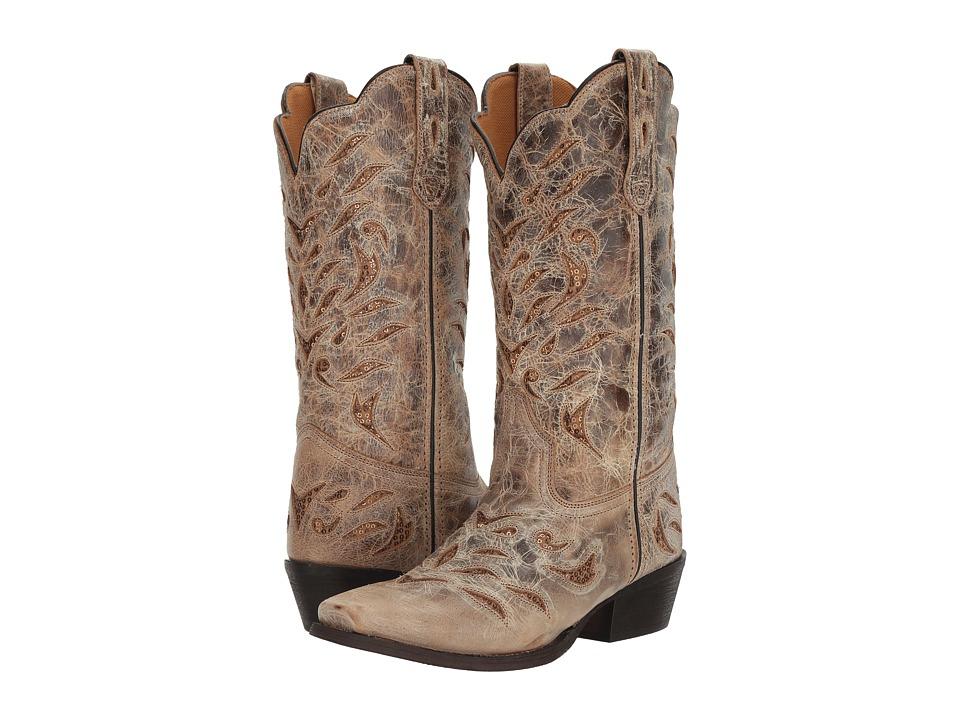 Laredo Roxanne (Tan) Cowboy Boots