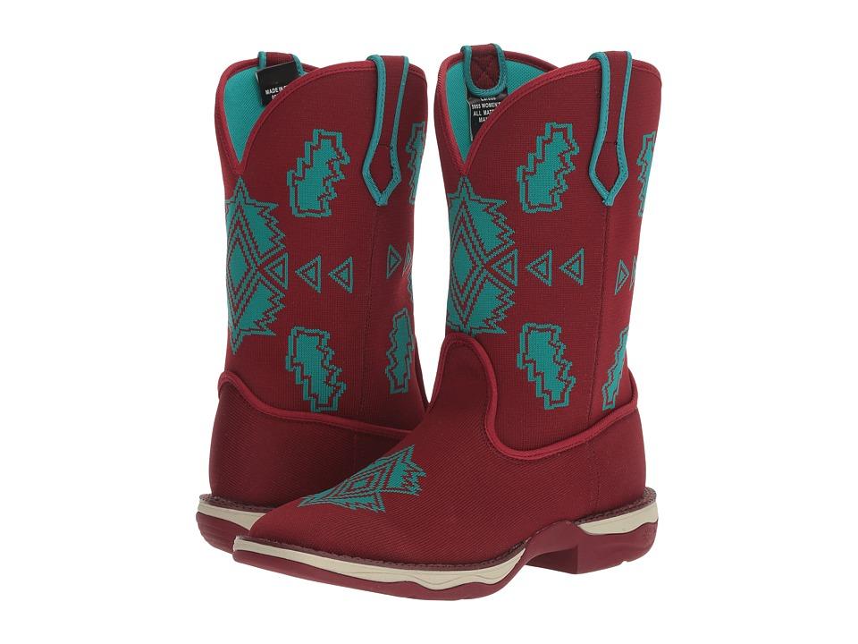 Laredo Scorcher (Black Cherry) Cowboy Boots