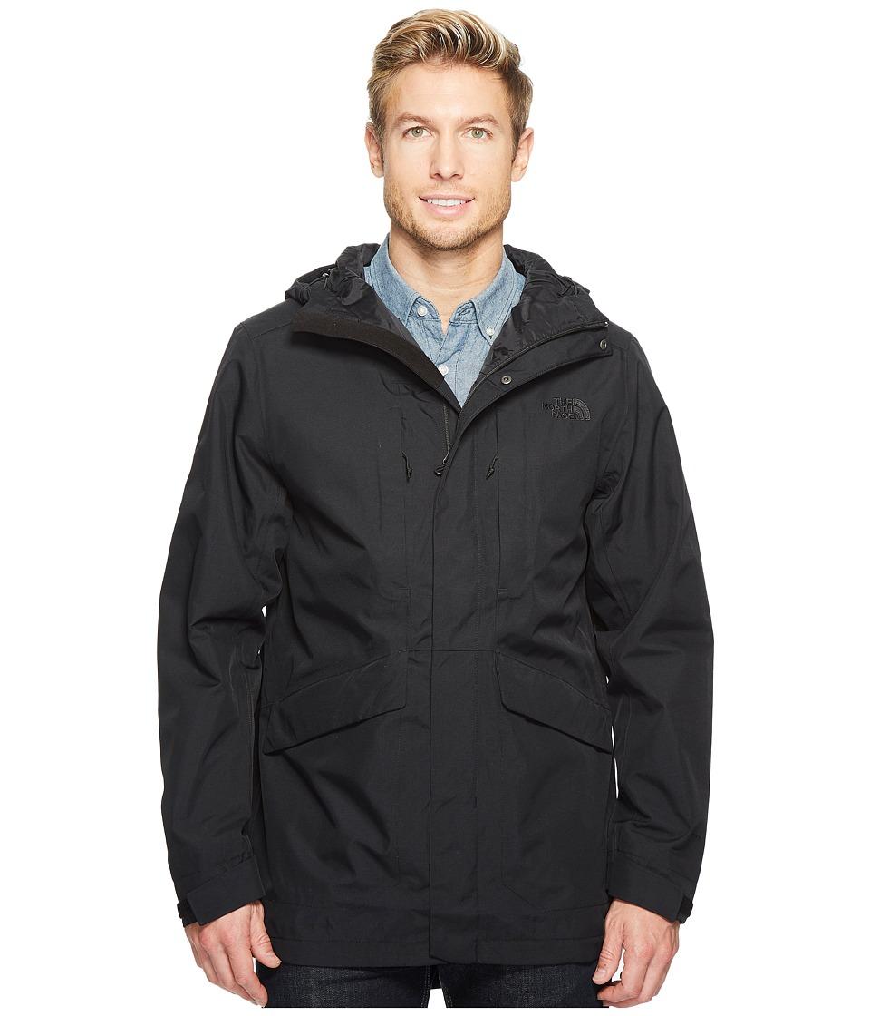 North Face El Misti Trench II (TNF Black) Men's Coat