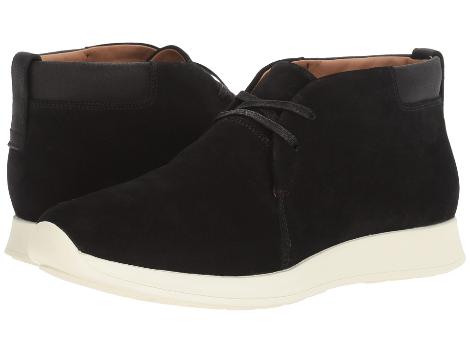 Vince Marcus Suede Chukka (Black Suede) Men's Boots
