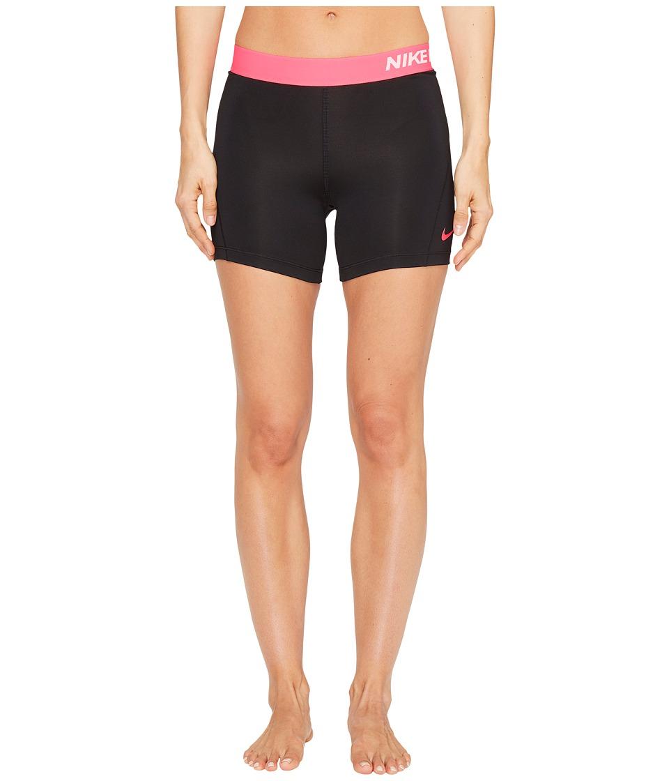 Nike Pro 5 Cool Training Short (Black/Racer Pink/Racer Pink) Women
