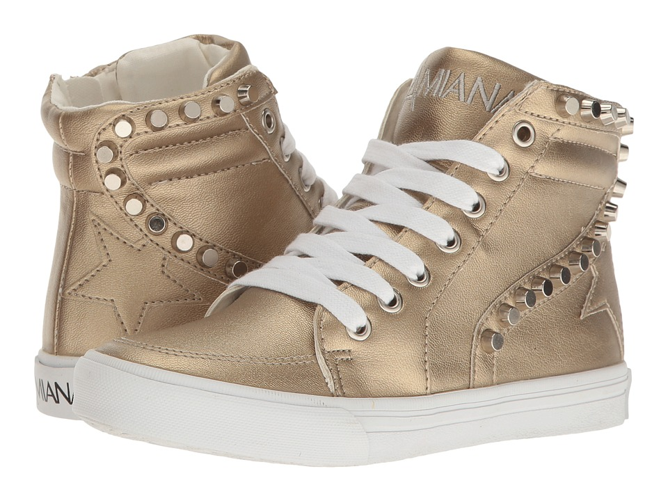 Amiana 15-A5434 (Toddler/Little Kid/Big Kid/Adult) (Gold Pearl PU) Girl