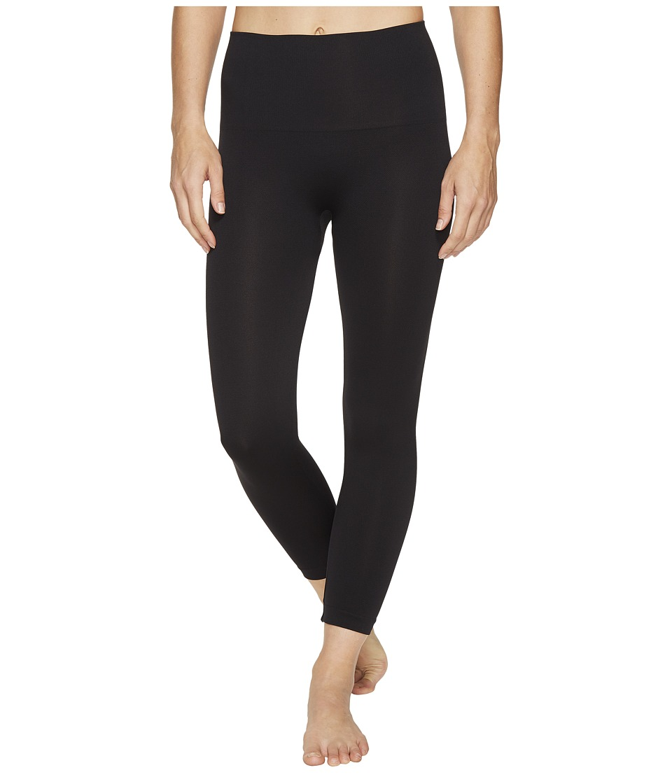 Spanx - Cropped Look At Me Now Seamless Leggings (Very Black) Hose