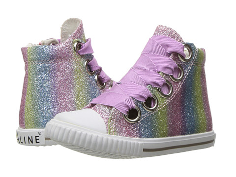 Amiana 6-A0920 (Toddler/Little Kid/Big Kid/Adult) - Rainbow Ombre Glitter