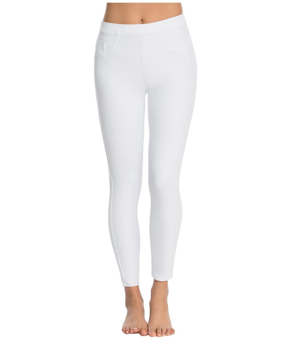 Spanx - Cut Sew Cropped Knit Leggings (White) Womens Clothing