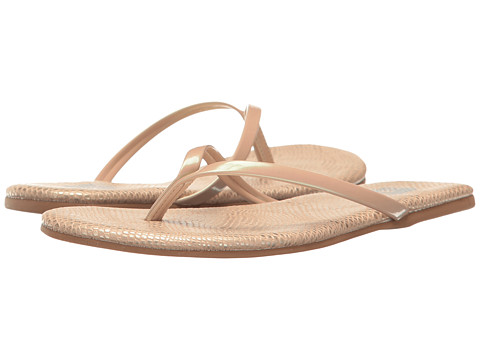 Amiana 12-A885 (Toddler/Little Kid/Big Kid/Adult) - Gold Python Patent