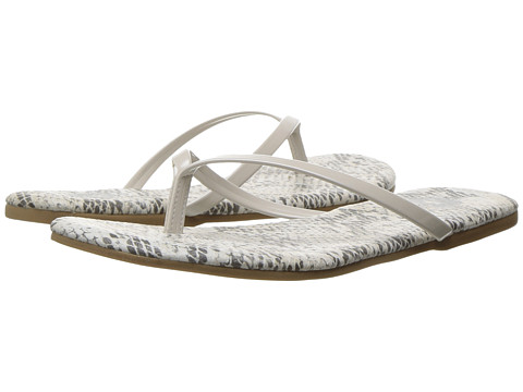 Amiana 12-A885 (Toddler/Little Kid/Big Kid/Adult) - White Python Patent