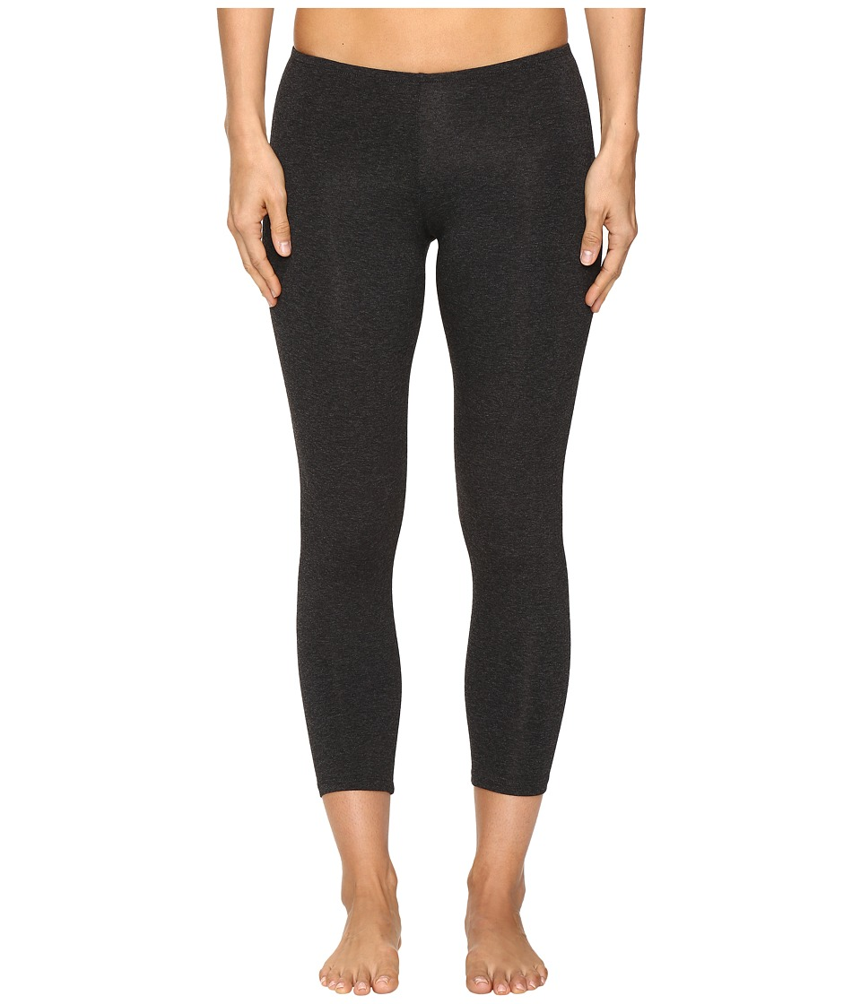 Only Hearts So Fine Crop Leggings (Carbon Heather) Women