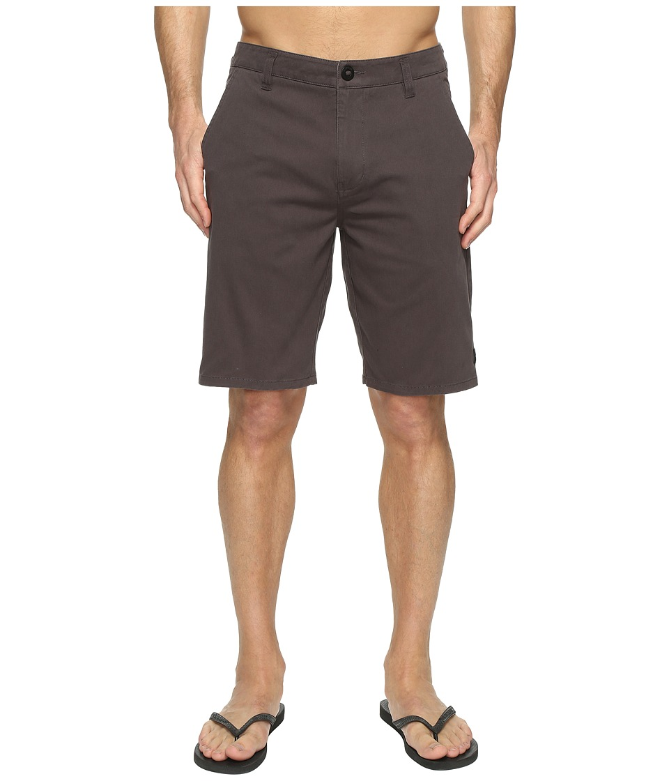 Rip Curl Epic Stretch Chino Walkshorts (Charcoal) Men