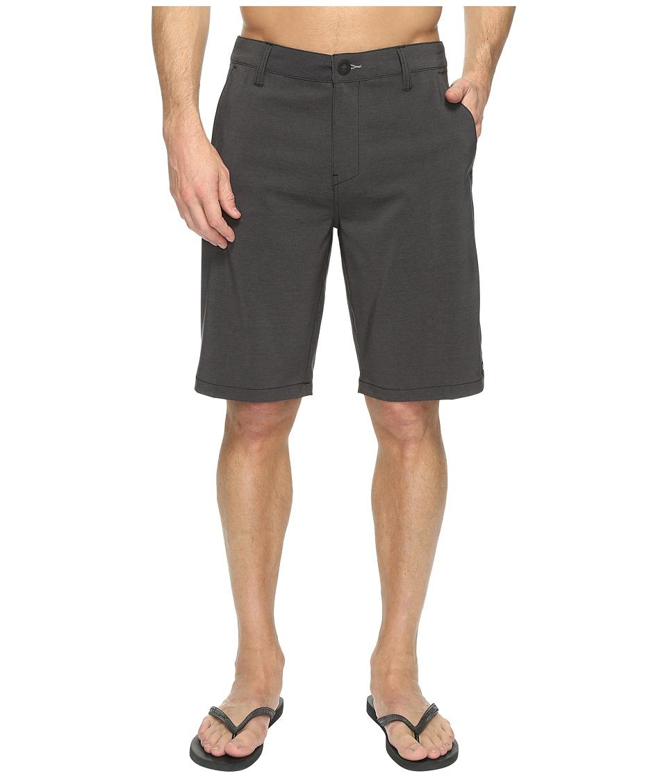 Rip Curl Mirage Phase Boardwalk Walkshorts (Black) Men