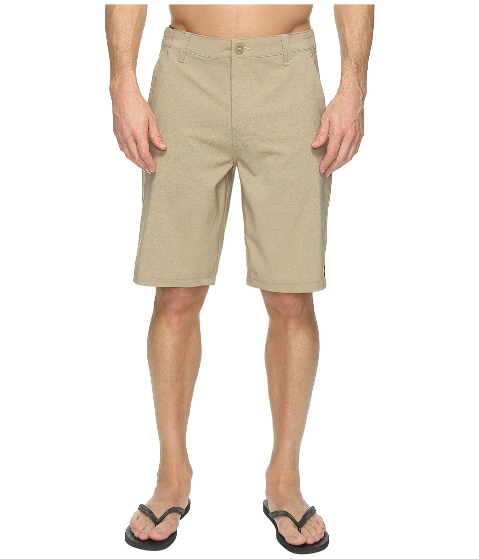 Rip Curl Mirage Phase Boardwalk Walkshorts (Khaki) Men