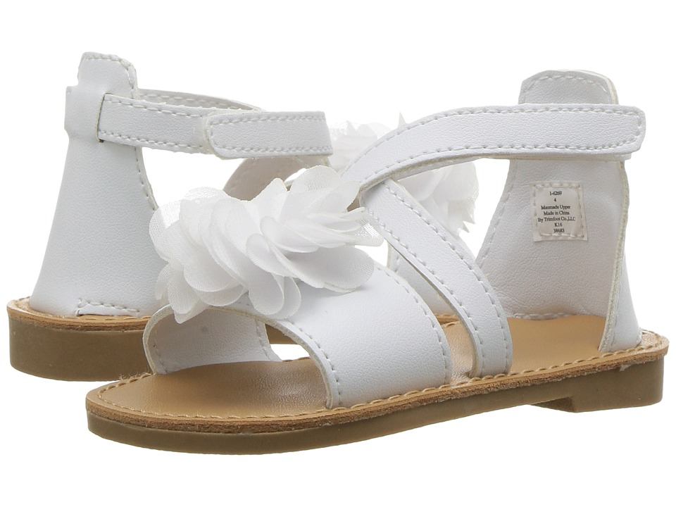 Baby Deer - Crisscross Sandal with Flower