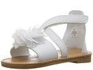 Crisscross Sandal with Flower (Infant/Toddler)