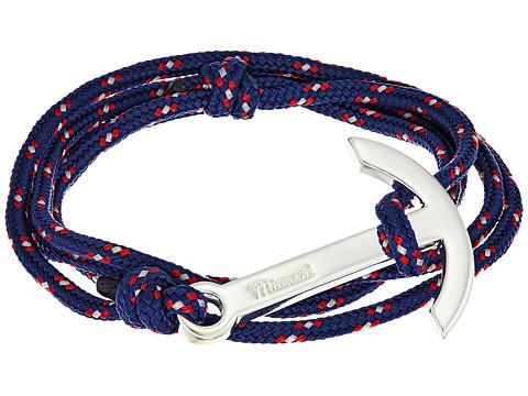 Miansai Modern Anchor on Rope Bracelet - Navy