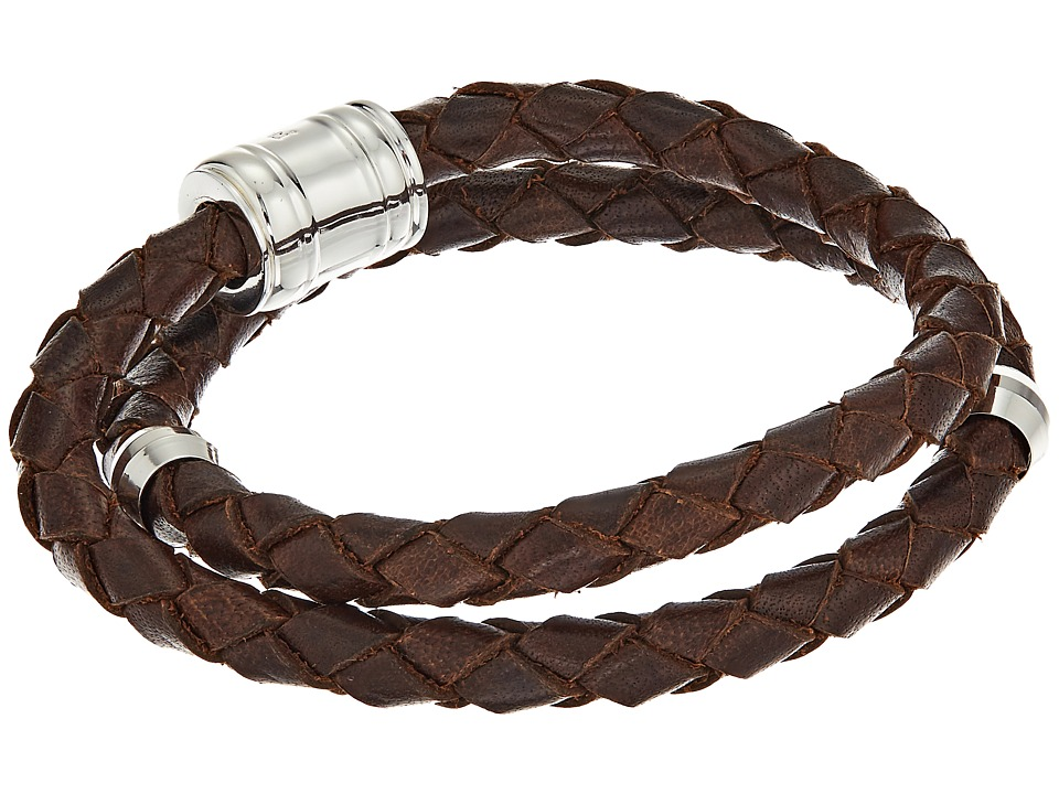 Miansai - Leather Casing Bracelet (Brown) Bracelet