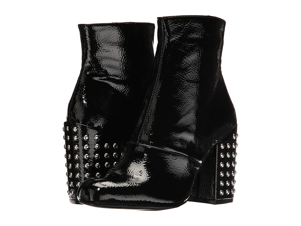 Steve Madden-Galley  (Black Patent) Womens Shoes