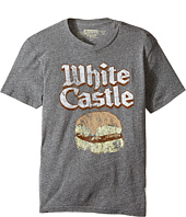 The Original Retro Brand Kids - White Castle Tri-Blend Short Sleeve Tee (Big Kids)