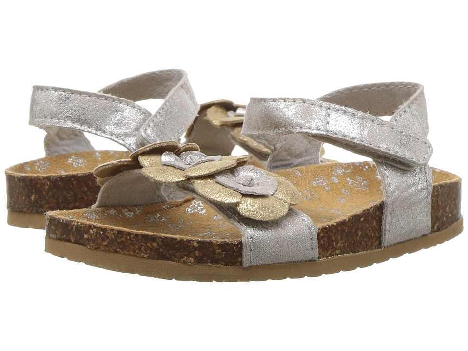 Baby Deer - Distressed Sandal with Flowers