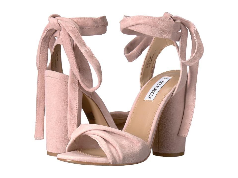Steve Madden Clary (Pink Suede) Women