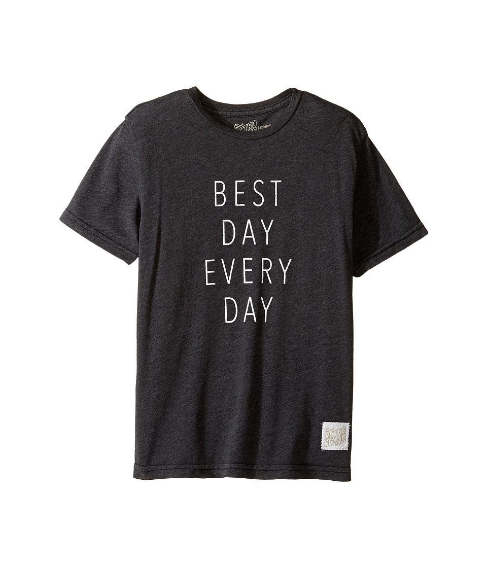 The Original Retro Brand Kids - Best Day Every Day Heather Short Sleeve Tee