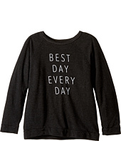 The Original Retro Brand Kids - Best Day Everyday Quad Pullover Sweatshirt (Big Kids)