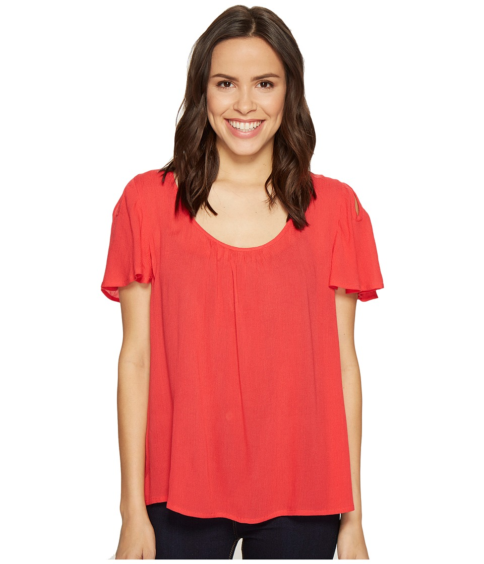 B Collection by Bobeau - Judy Keyhole Top