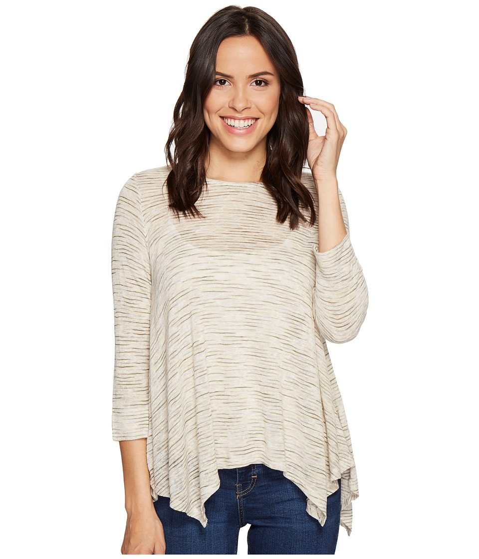 B Collection by Bobeau - Langley Hanky Hem Top