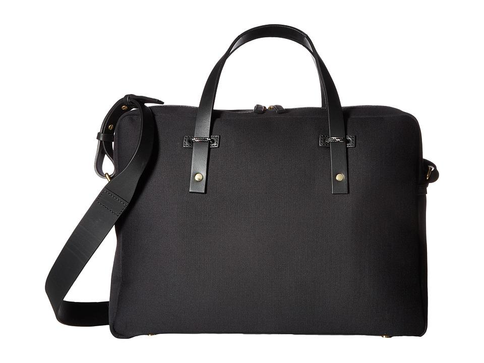Miansai Fulton Briefcase (Black/Black) Briefcase Bags