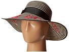Kate Spade New York - La Vie En Rose Stripe Sun Hat