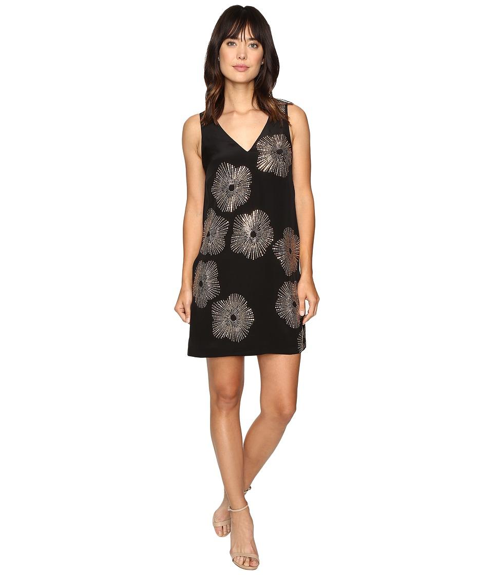 Trina Turk Glitterati Dress (Black) Women