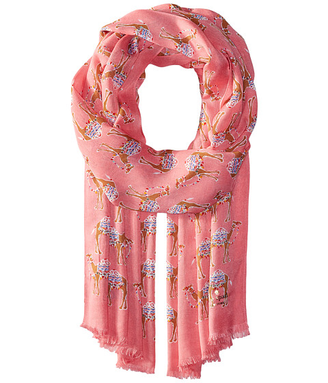 Kate Spade New York Camel March Oblong Scarf