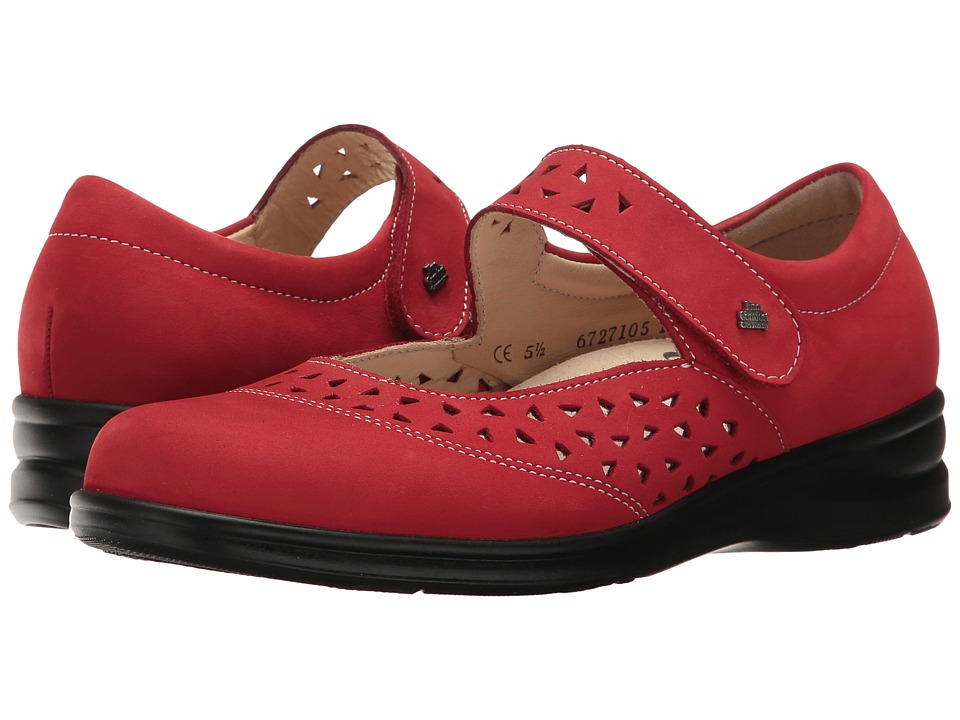 Finn Comfort Anzio (Red) Women