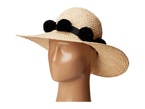 Kate Spade New York Sun Hat w/ Poms