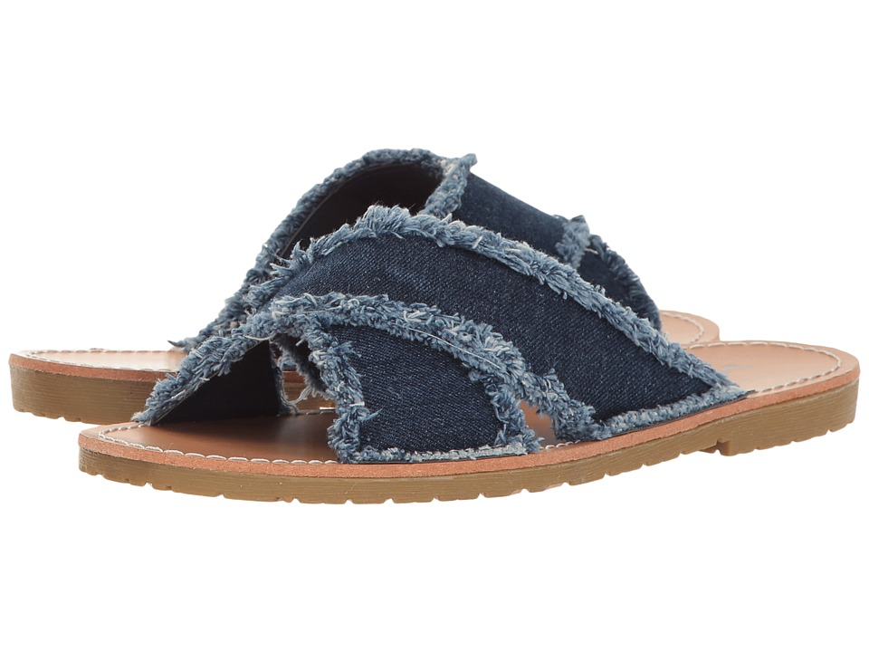 Dirty Laundry - Empowered Slide (Indigo Denim) Women's Sandals