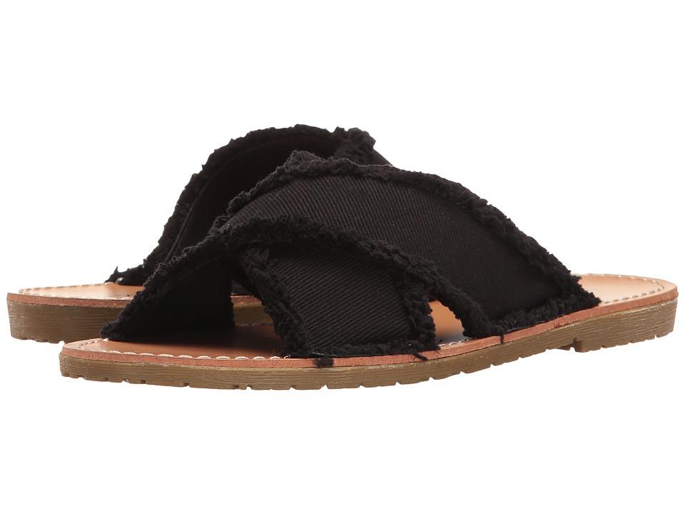 Dirty Laundry Empowered Slide (Black Twill) Women