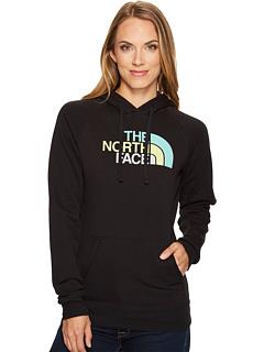 north face half zip hoodie