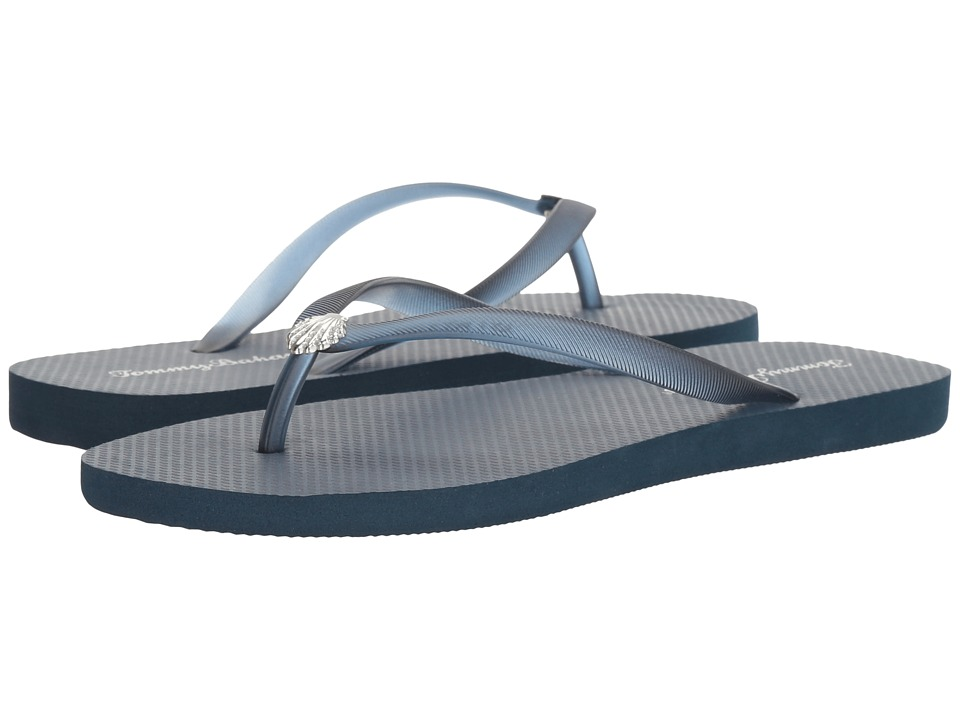 Tommy Bahama Whykiki Flat Solid (Navy 2) Women