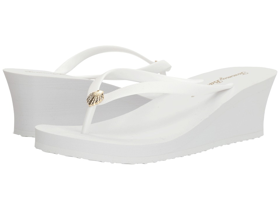 Tommy Bahama Whykiki Wedge Solid (White 2) Wedges