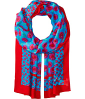 Kate Spade New York - Tangier Floral Oblong Scarf