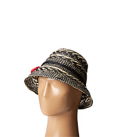 Kate Spade New York - Basket Weave Flat Top Cloche
