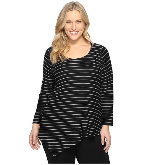 Karen Kane Plus Plus Size Asymmetric Angled Top