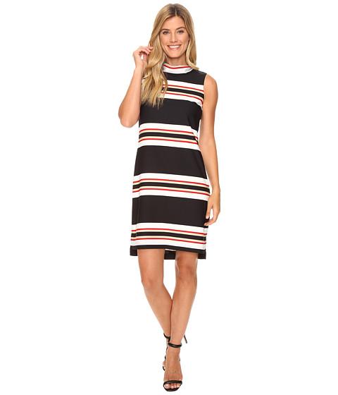 Calvin Klein Sleeveless Mock Neck Dress