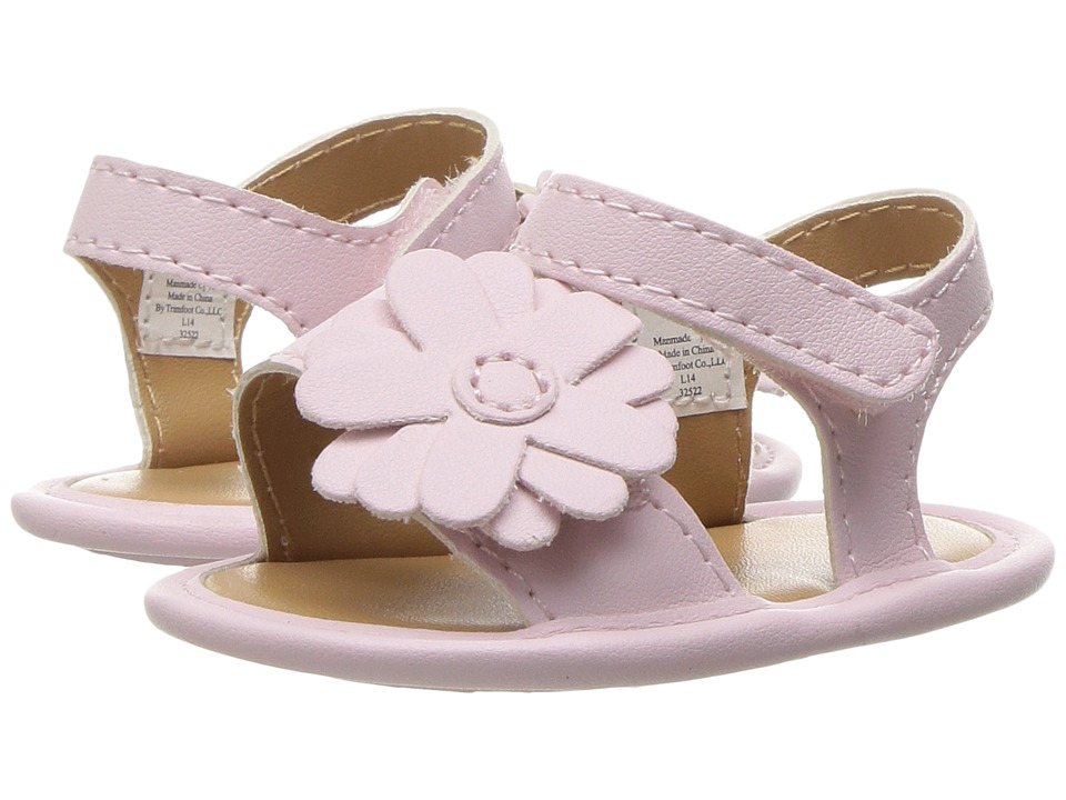 Baby Deer - Double Strap Sandal with Flower