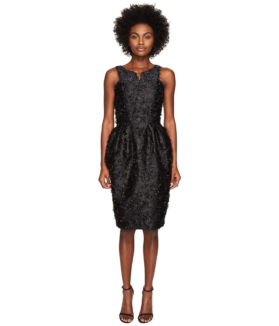 Zac Posen Angel Hair Lurex Sleeveless Dress (Eclipse) Women