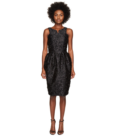 Zac Posen Angel Hair Lurex Sleeveless Dress
