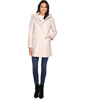 Ivanka Trump - Wool Anorak Coat with Attached Poly Vest