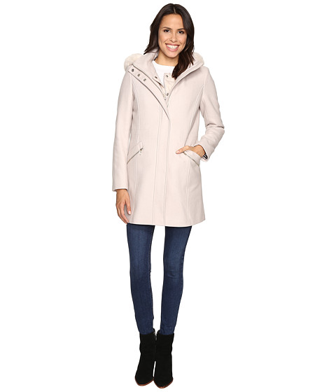 Ivanka Trump Wool Anorak Coat with Attached Poly Vest