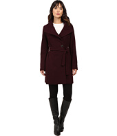 Ivanka Trump - Wool Coat with Hardware Clousure and Belt